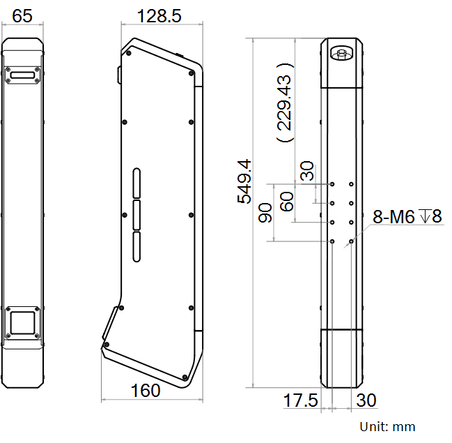 线激光立体相机丨海康威视(HIKVISION)MV-DL2040-04B-H-捷利得(北京)自动化科技有限公司