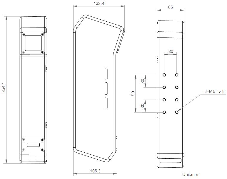线激光立体相机丨海康威视(HIKVISION)MV-DL2025-04D-H-捷利得(北京)自动化科技有限公司